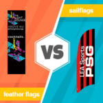 feather flags vs sailflags