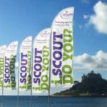 scout group feather flags