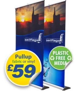 eco fabric pullup banners