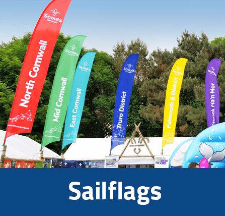 sailflags feather flags (scouts)