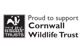 proud to support cornwall wildlife trust