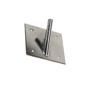 Wall bracket for feather flag
