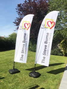 feather flags for charity