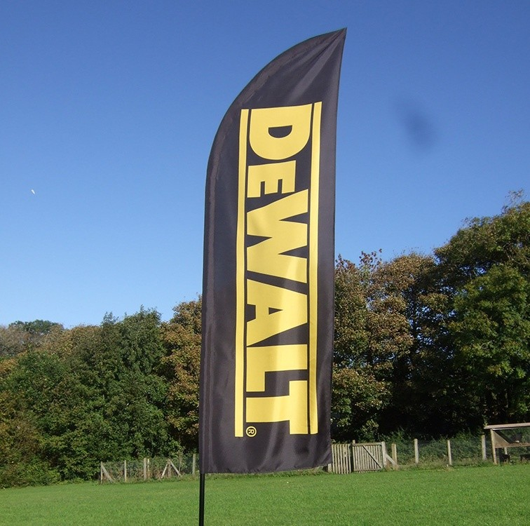 DeWalt feather flag