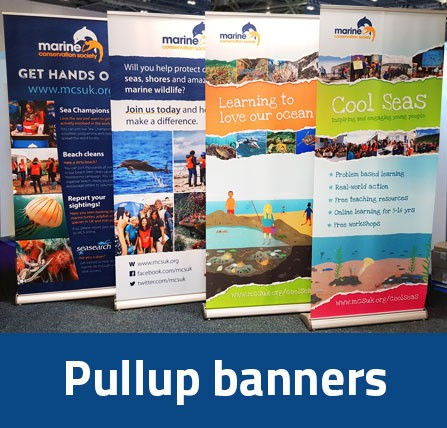 roller banners, pullup banners