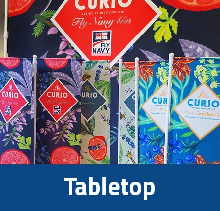 table top desk top flags