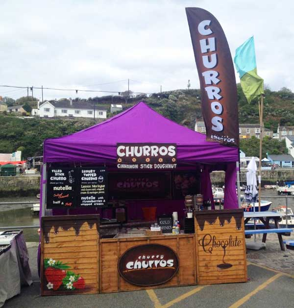 churros flags