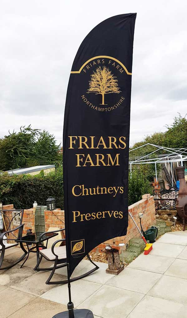 friars farm feather flag
