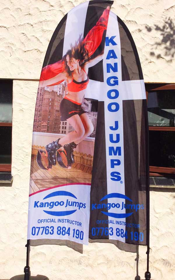 kangoo jumps flags