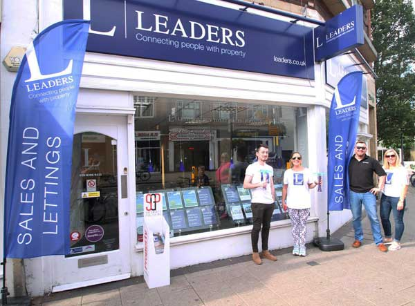 leaders estate agent flags