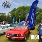 mustang owners club feather flag