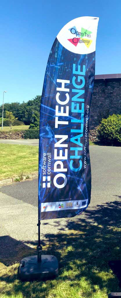 cornwall open tech challenge flag