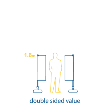 double sided value