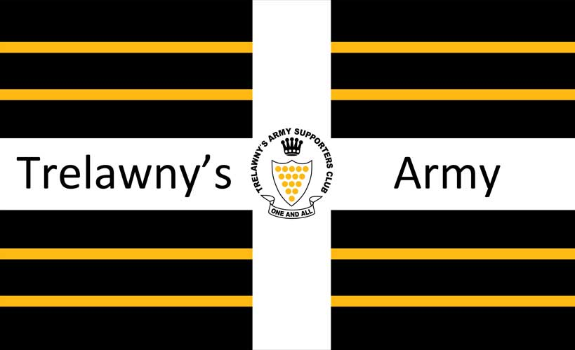 trelawnys army flags