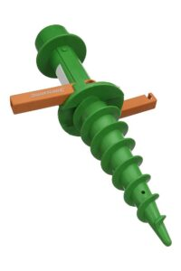 flagpole ground screw