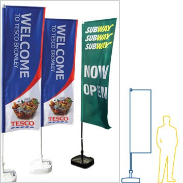 standard feather flags